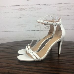 NWT a new day White Heels with Studs 10